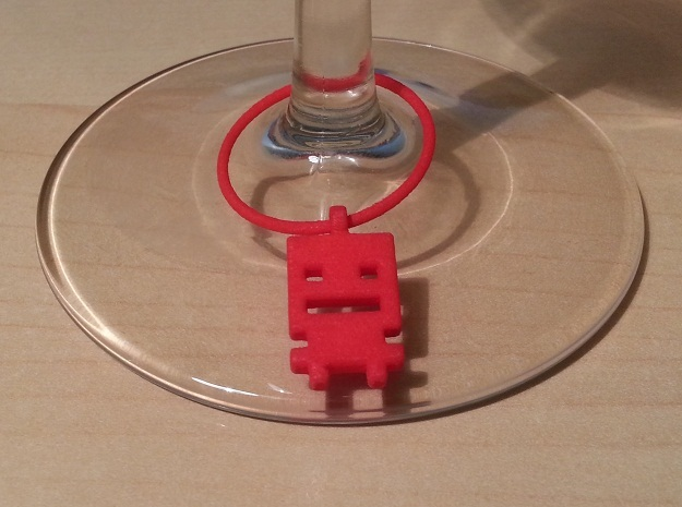 Turbo Buddy Wine Charm