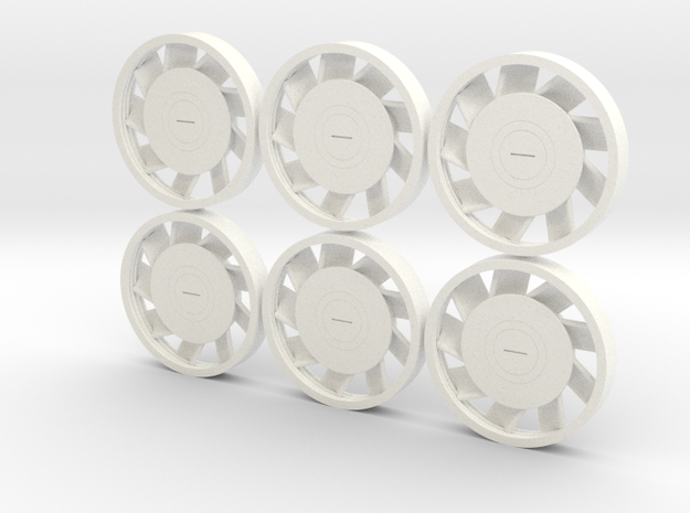 MILLENNIUM DEAGO ENGINE FANS SET