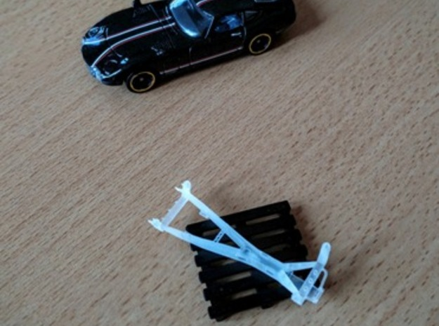 Chassis Toyota 2000gt Hotwheels