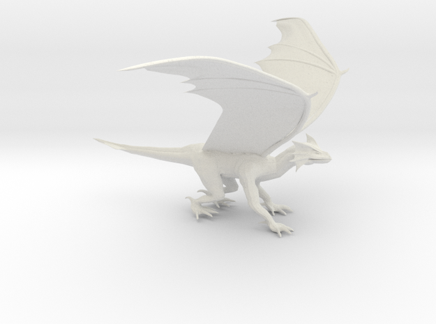 Dragon Green 3d printed