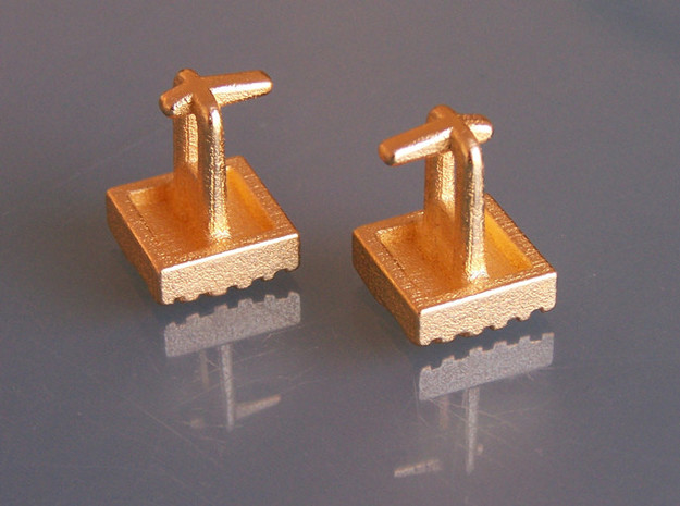 Eq Cufflinks Set 3d printed
