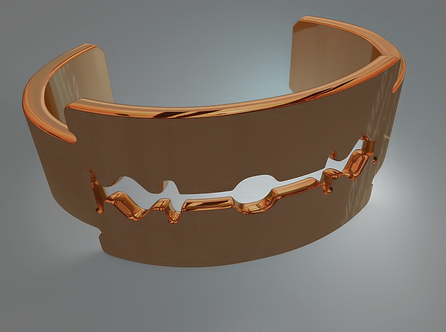 Gillette - Bracelet for men 3d printed Gillette - Bracelet for men