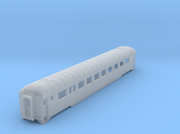 N scale DRGW streamstyled coach