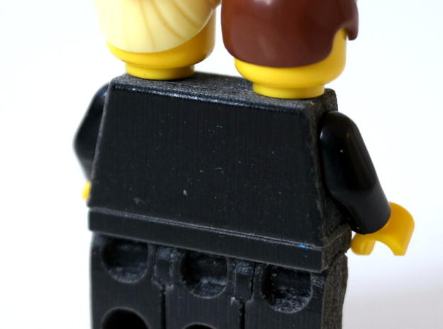 Trinifigure - Three Legged Minifigure 3d printed