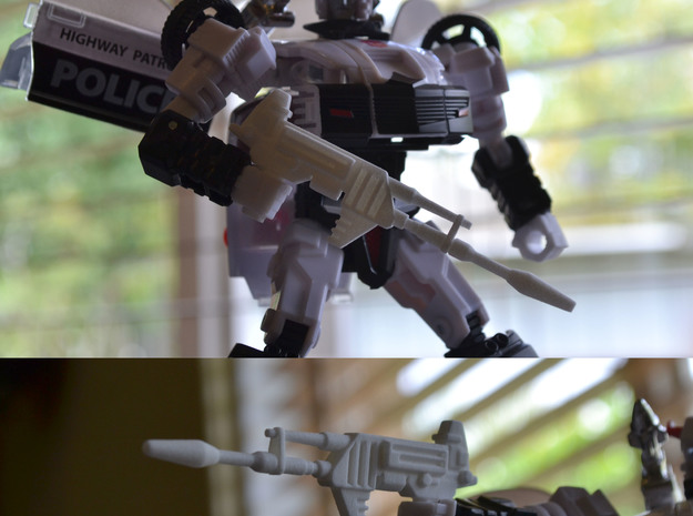 TF Guns Set-02 (4 Rifles) 3d printed