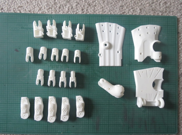 3D Printed Hand Left 3d printed