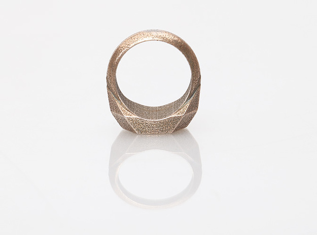 Magic: The Gathering Boros Ring(US Size 09) 3d printed Stainless Steel