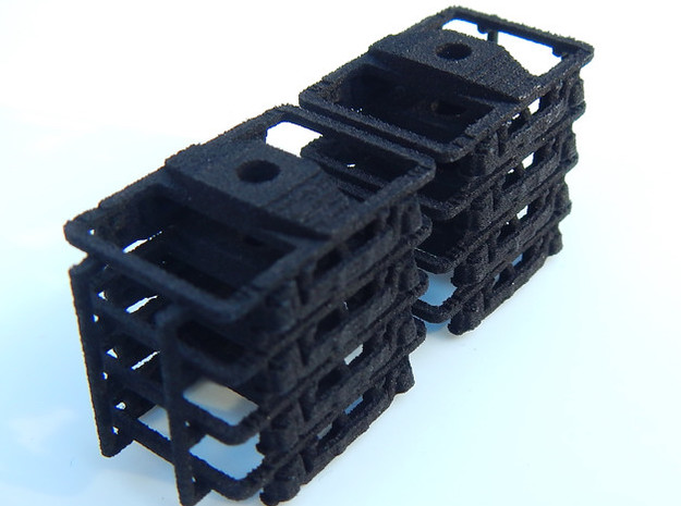 CNSM - 8 Interurban Trucks 3d printed