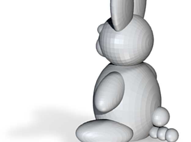 Bunny 3d printed