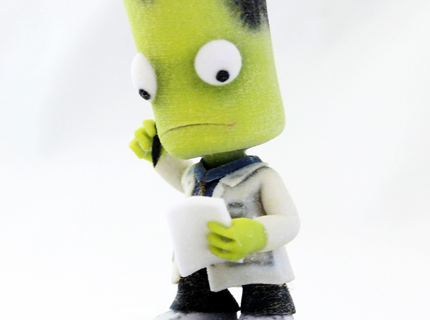 Kerbal Intern 3d printed Intern