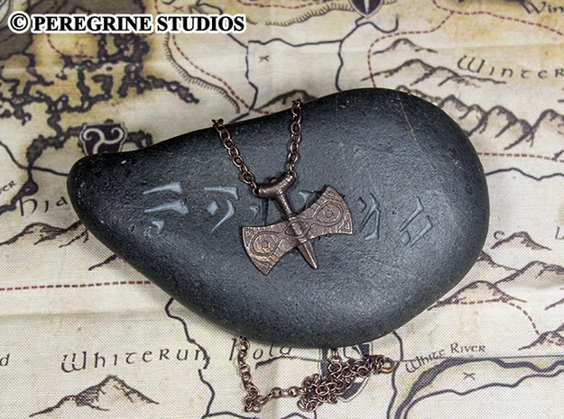 Pendant - Amulet of Talos 3d printed