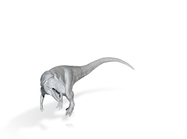 Allosaurus 1:72 scale 3d printed