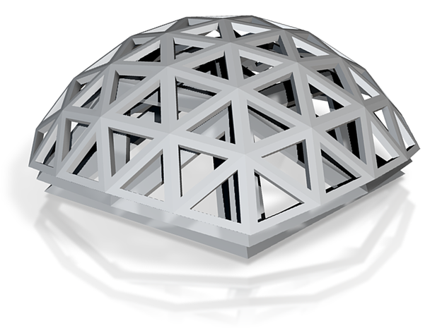 Geodesic domes 3d printed