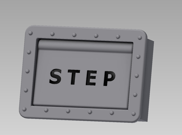 Step Box Assembly 3d printed