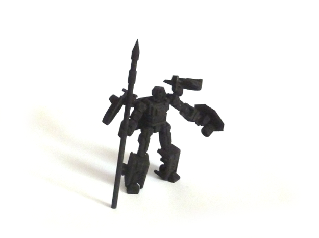 Alert Knight: Figure (No Weapons) 3d printed