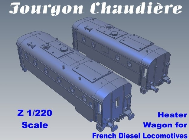 1-220 Fourgon Chaudiere 800kg-1300kg