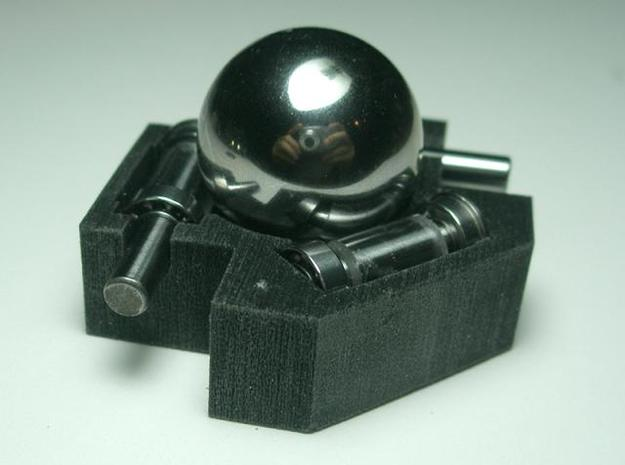 Trackball Assembly 3d printed Description