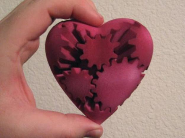 Gear Heart 3d printed Gear Heart - Front