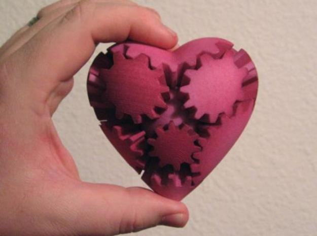 Gear Heart 3d printed Gear Heart - Back