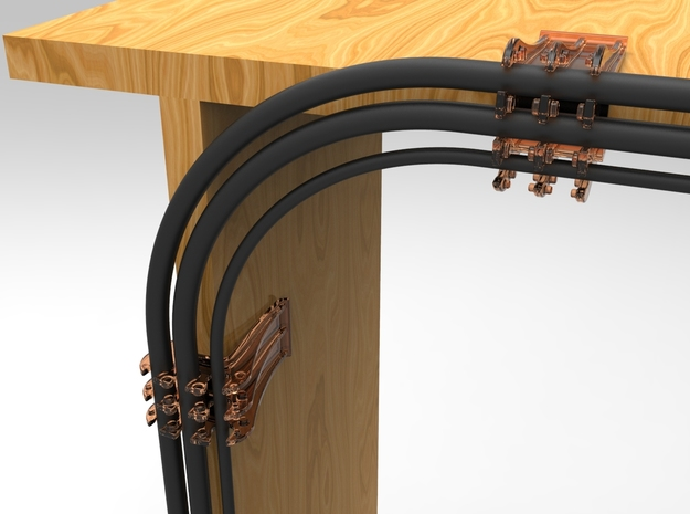 Cable Snap, keep all your cables organized neatly 3d printed