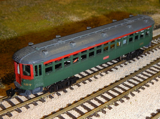 CNSM 150 - 164 series coach 3d printed Painted model