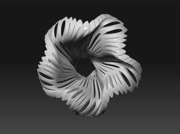 Ikebana vase 3d printed Description