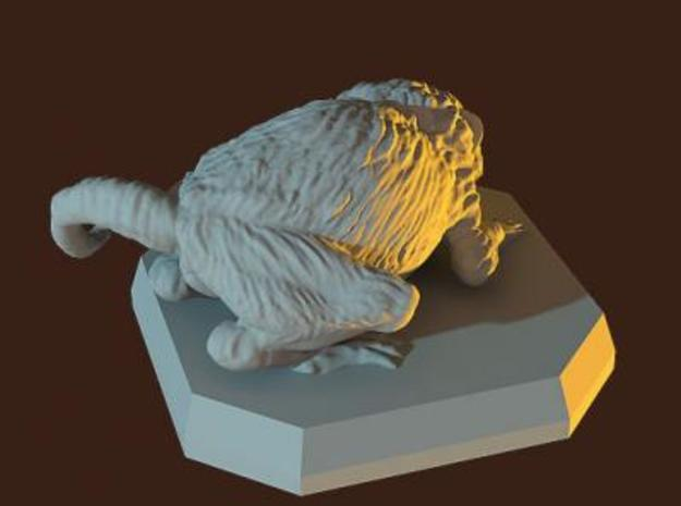 Giant rat miniature 3d printed Description