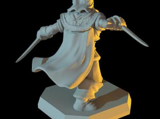 Thief miniature 3d printed Description