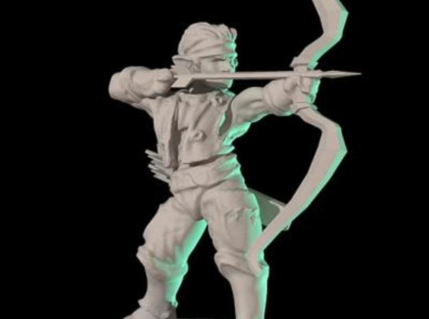 Elven archer 3d printed Description