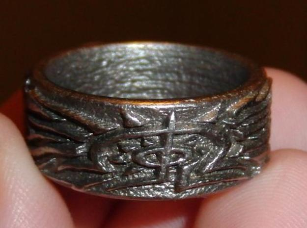 Eldritch Ring - Finger - Size 10ish 3d printed Description