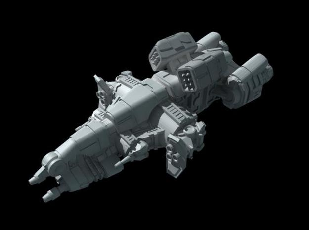 Titan Class - Assault Frigate 3d printed front quarter