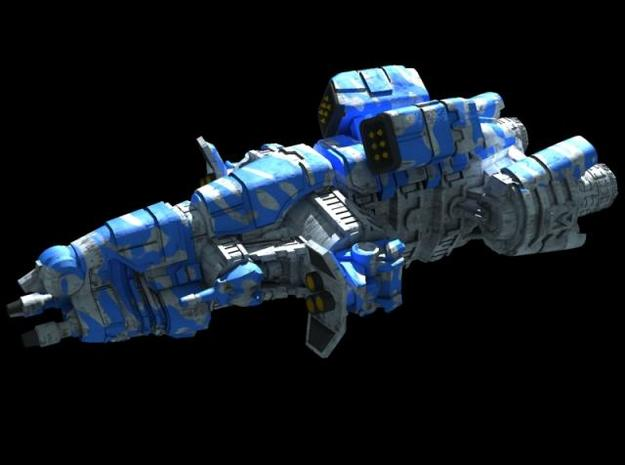 Titan Class - Assault Frigate 3d printed Description