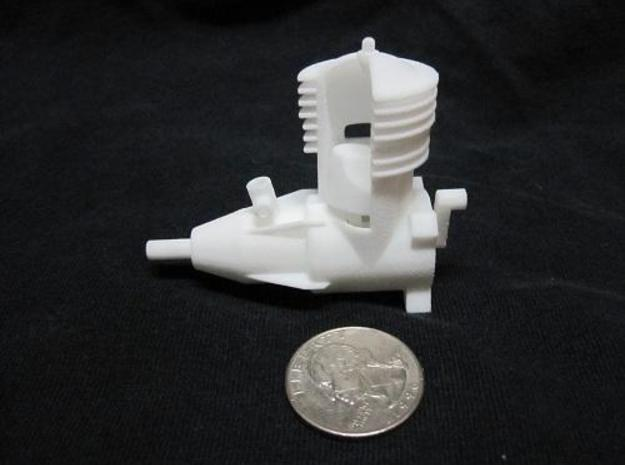 2 Cycle R/C Aircraft Engine 3d printed The final product