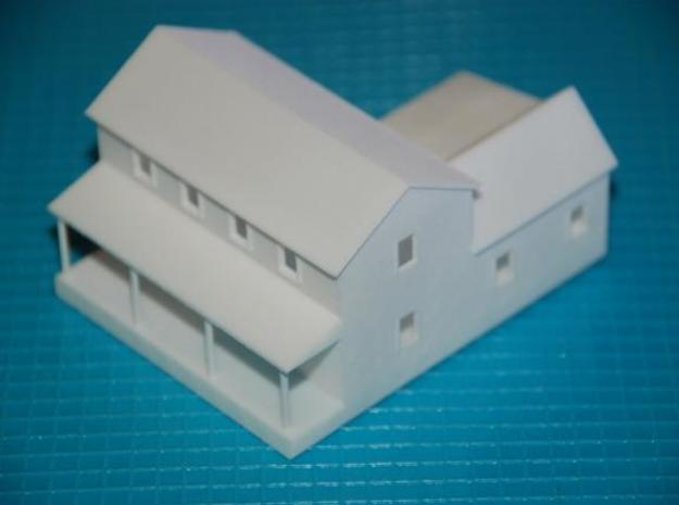 CBR Section Foreman House - Z Scale 3d printed Front Fiew