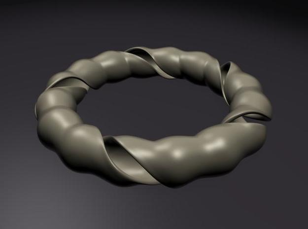 Twisted Ring 3d printed Render View