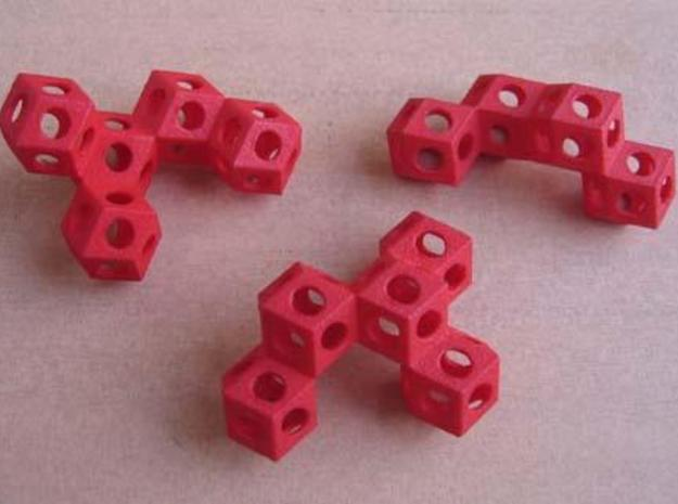Nuclear Fusion Puzzle 3d printed Puzzle pieces.