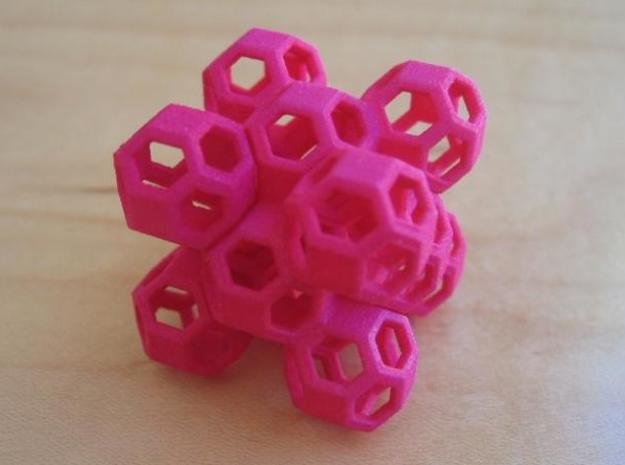 Nuclear Fusion Puzzle 3d printed Version 1 puzzle.