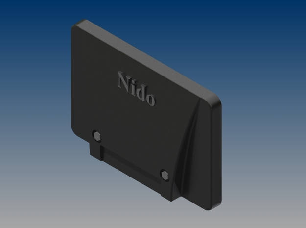 DIN 76060 plate in h0 scale (1:87) set of 5 3d printed Render