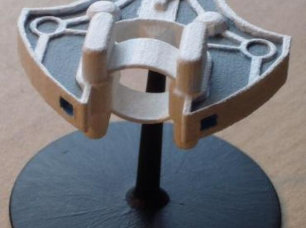 Loki scout ship 3d printed painted model with stand