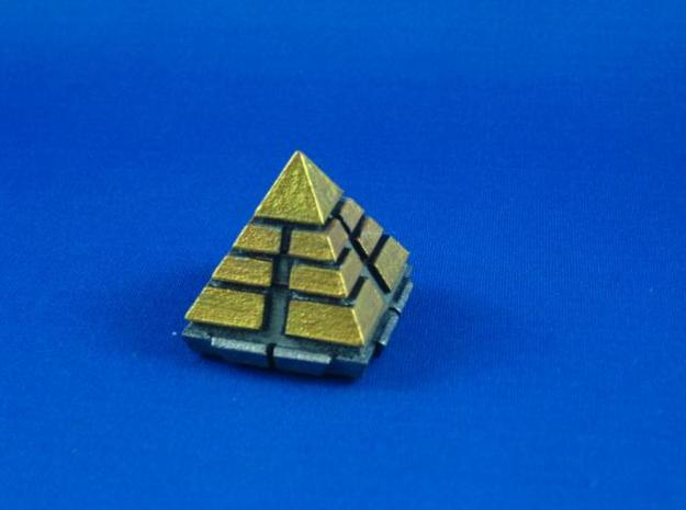 Pyramid ship 3d printed Pyramid ship painted