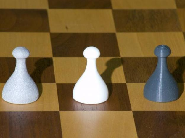 Chess Pieces 3d printed All Three