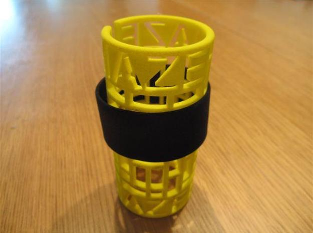 Cooksey Maze 3d printed Ring midway