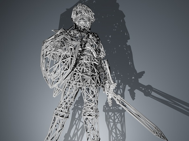 Link Wireframe 250mm 3d printed