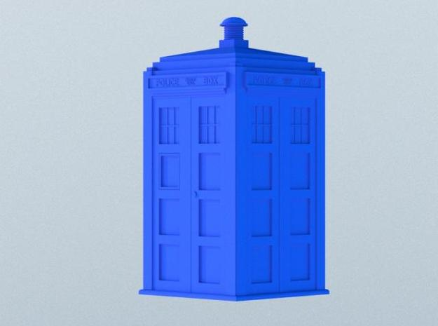 Dr Who's TARDIS (5 cm) 3d printed Rendered version