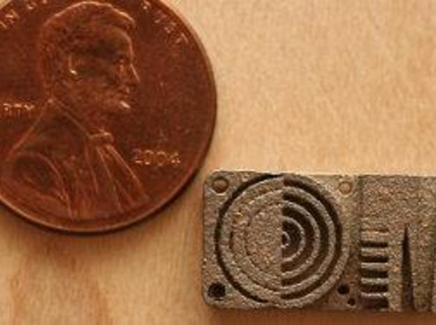 Detail Test, Metric 3d printed Detail Test Scale, compared to a US penny