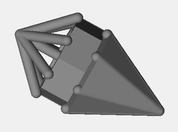 d7 cone blank 3d printed Description