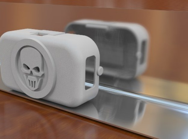 Ghost Recon style Phantom 2 Battery Door 3d printed
