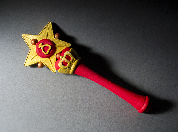 Mars Star Wand 3d printed