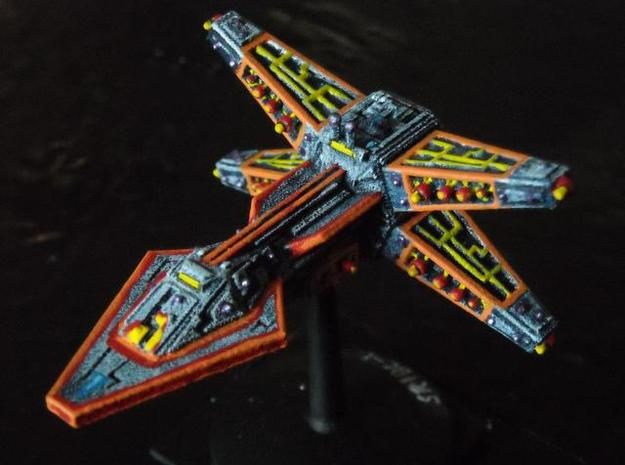 VA301 Solar Rage Battlecruiser 3d printed Painted model