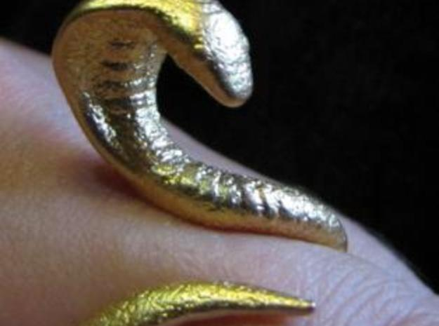 Snake Ring size 12 3d printed photo 2